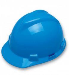 Capacete Aba Frontal Azul V-Gard Com Carneira MSA