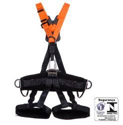 Cinturão Paraquedista Abd com reg.total e 5 pts ancoragem