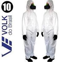 Macacão Tyvek Covertech 100 Branca - Volk